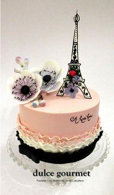 PARISIAN GLAM! - Cake by Silvia Caballero