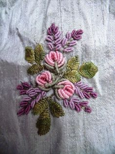 my stitching and other journeys: embroidery