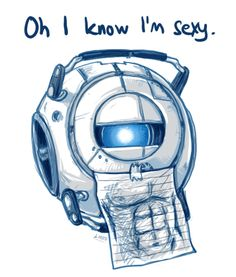 Sexy Wheatley fanart