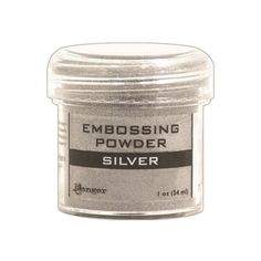 Silver Pearl Limited Edition Ranger Embossing Powder 1-Ounce Jar