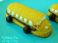 Kitchen Fun With My 3 Sons: Back to School Bus Twinkies!
