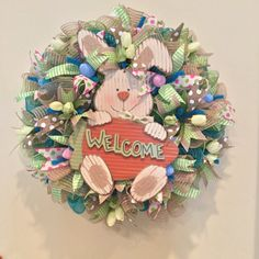 Easter wreath, natural wreath, neutral wreath, Spring Wreath, Flower Wreath, Blue Wreath, Pink Wreath, Spring Wreath, Ready to Ship