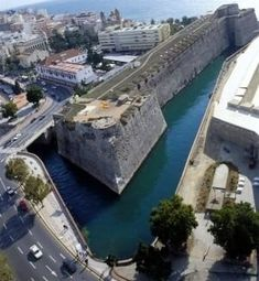 Foso Real, Ceuta Meeting Room Booking System, Places In Spain, Spanish Towns, Spain Holidays, City Museum, Walled City, Spain And Portugal, Menorca, Historical Architecture