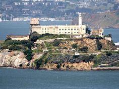 Approaching Alcatraz Island. Buy tickets here.
