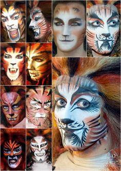 cats makeup macavity - Google Search
