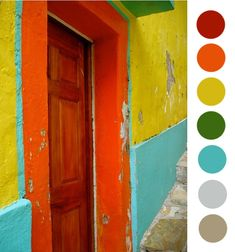 Sometimes color can really surprise you... It wasn't until doing the color study of this brilliant alley in San Miguel de Allende, México ...