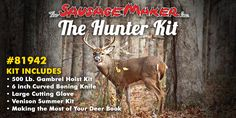 Is Dad a hunter? Get him our hunter kit so he can process all of his game with ease.