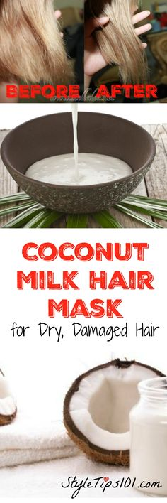 Perfect for dry, parched, damaged hair. Works INSTANTLY!