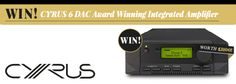 Source: WIN! Cyrus 6 DAC Award-Winning Integrated Amplifier | CALIBRE