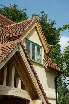 Image result for oak window frames cream render