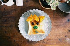 Mr. Tsubura / つぶら君 #cute #food