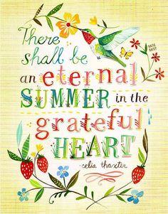 <3 My heart is always in Summer!