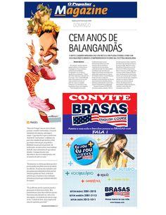 Especial sobre os 100 anos de nascimento de Carmen Miranda publicada em O Popular de 8 de fevereiro de 2009. Página 1 de 3.