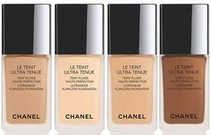 Chanel Le Teint Ultra Tenue Ultrawear Flawless Foundation and Compact Fall 2016