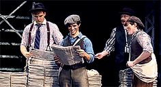 Joey Barreiro and Zachary Sayle in Newsies <<< FIRST THING I'VE SEEN OF THE NEW JACK! AHHH! I WILL PROBABLY BE SEEING HIM AND ZACHARY AND THE REST OF THE CURRENT NEWSIES TOURING CAST IN THE SPRING OF 2016!