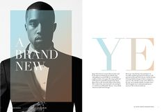 A Brand New YE on Behance