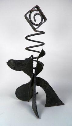 Fred Schmidt wrought iron sculpture : Lot 307