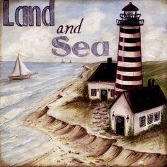 Land And Sea Fine-Art Print by Kate McRostie at UrbanLoftArt.com