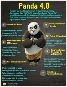 Nuevos cambios en el algortimo de #Google #Panda4.0