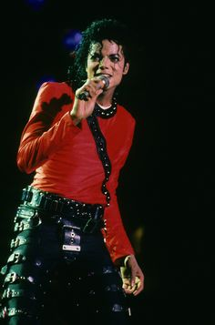 Michael Jackson BAD tour attire