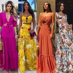 Pretty casual maxi outfits for summer. Fashion Mode, Boho Fashion, Fashion Dresses, Fashion Looks, Womens Fashion, Casual Dresses, Casual Outfits, Cute Outfits, Ethno Style
