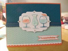 Happy Hour by amystamps31 - Cards and Paper Crafts at Splitcoaststampers