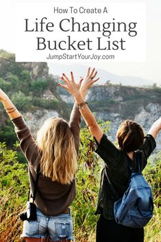 Instead of a new year's resolution, what about a bucket list? Set up a bucket list that is inspiring, meaningful and one that you will take action on. Podcast host Paula Jenkins does a great job of explaining the key things to consider when creating your bucket list. www.jumpstartyourjoy.com #bucketlist #podcast #inspiredlife