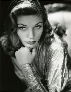 Lauren Bacall photographed by John Engstead.