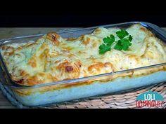 COLIFLOR CON BECHAMEL GRATINADA AL HORNO. Manera deliciosa de comer la coliflor, receta clásica que no deja de ser una de las recetas en época de invierno. Diy Cozinha, Bechamel, Cauliflower Recipes, Lasagna, Risotto, Macaroni And Cheese, Waffles, Side Dishes, Healthy Eating