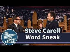 Steve Carell And Jimmy Fallon Lose It Playing 'Word Sneak' The Wrong Way