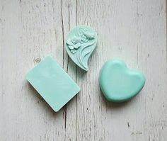 Em szappanjai: 245. Kék tenger sószappan Smoothie, Soap, Mint, Smoothies, Shake, Soaps