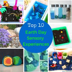Top 10 Earth Day Sensory Experiences for Kids