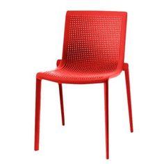 Stuhl Beekat (2er Set) - Rot