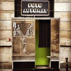 Fotoautomat at Le Dôme du Marais, Paris #photobooth #photomaton