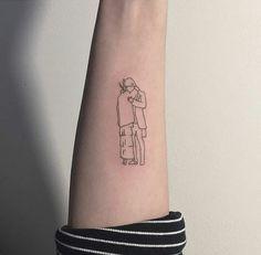 10 Minimalist Tattoo Designs For Your First Tattoo - Spat Starctic Kpop Tattoos, Army Tattoos, Mini Tattoos, Trendy Tattoos, Body Art Tattoos, Small Tattoos, Tattoos For Women, Tatoos, V Tattoo