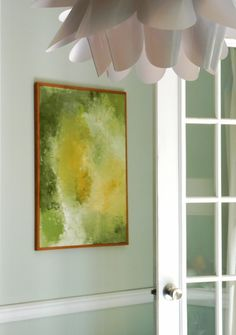 The art that's ideal for home staging is the kind of art that blends into the background.   It creates a relaxed, cheerful, confident, buy...