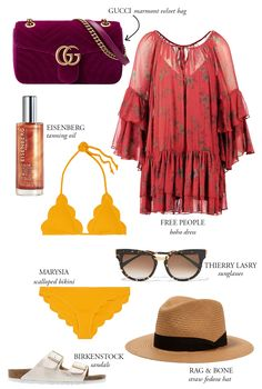 South Beach Miami Packing List - Bikinis & Passports