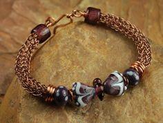 Viking Knit Butterfly Bracelet,