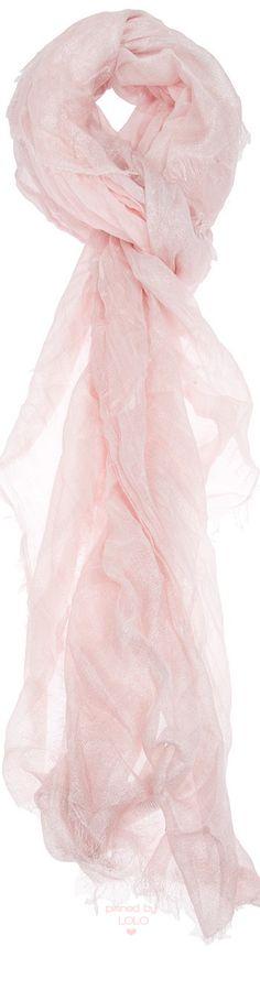 Faliero Sarti Light Pink Scarf | LOLO❤