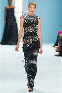 Sfilata Carolina Herrera New York - Collezioni Autunno Inverno 2015-16 - Vogue