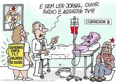Corte Orçamental na Saúde...