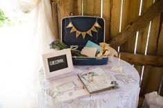 Sara & Jeremy 7.5.14 | Boho guestbook | The Barn at Cedar Grove | Nikita Gross Photography