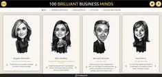 100 BRILLIANT BUSINESS MINDS