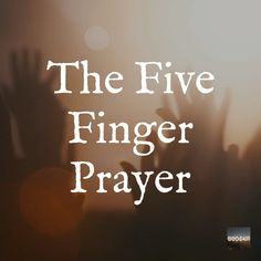 You will be surprised how POWERFUL these 5 prayers can be. Each of your fingers represents a differe Prayer Scriptures, Bible Prayers, Bible Verses Quotes, Powerful Scriptures, Powerful Prayers, Gospel Quotes, Devotional Quotes, Biblical Verses, Daily Devotional