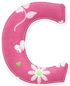 "Photo from album ""СЕРДЦЕ ТЕБЕ"" on Letter Symbols, Alphabet And Numbers, Scrapbook Letters, Scrapbook Paper, Stencil Printing, Minnie Png, Alphabet Crafts, Bunting Flags, Pink Fabric"