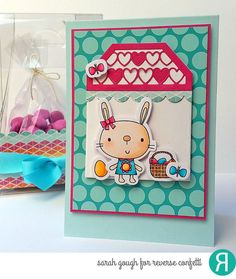 These bunnies are going to HOP right into your heart and are perfect not only for your Easter crafts, but can easily be used throughout the year. This stamp set features two bunny friends along with an assortment of accessories and sentiments. Coordinating Confetti Cuts die set sold separately.