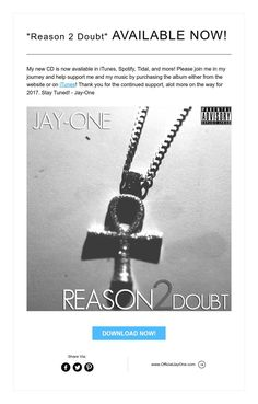 """""""Reason 2 Doubt"""" AVAILABLE NOW!"""