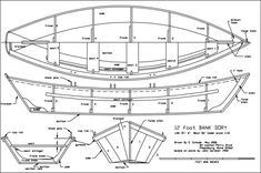 Boat Plans - PDF Dory Boat Plans Free diy boat bookscase - Master Boat Builder with 31 Years of Experience Finally Releases Archive Of 518 Illustrated, Step-By-Step Boat Plans Plywood Boat Plans, Wooden Boat Plans, Wooden Boats, Make A Boat, Build Your Own Boat, Jon Boat, Boat Dock, Dory, Duck Boat Blind