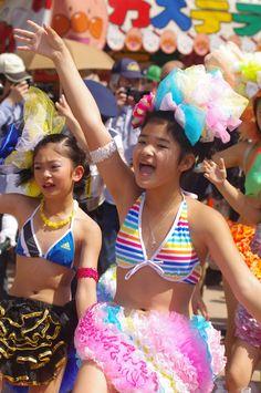 Festival Girls, Kobe, Bikinis, Swimwear, Sweet, People, Photography, Style, Fashion