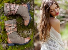 I have these boots in black and they are sooo comfortable & cute. Think I need them in brown too...!